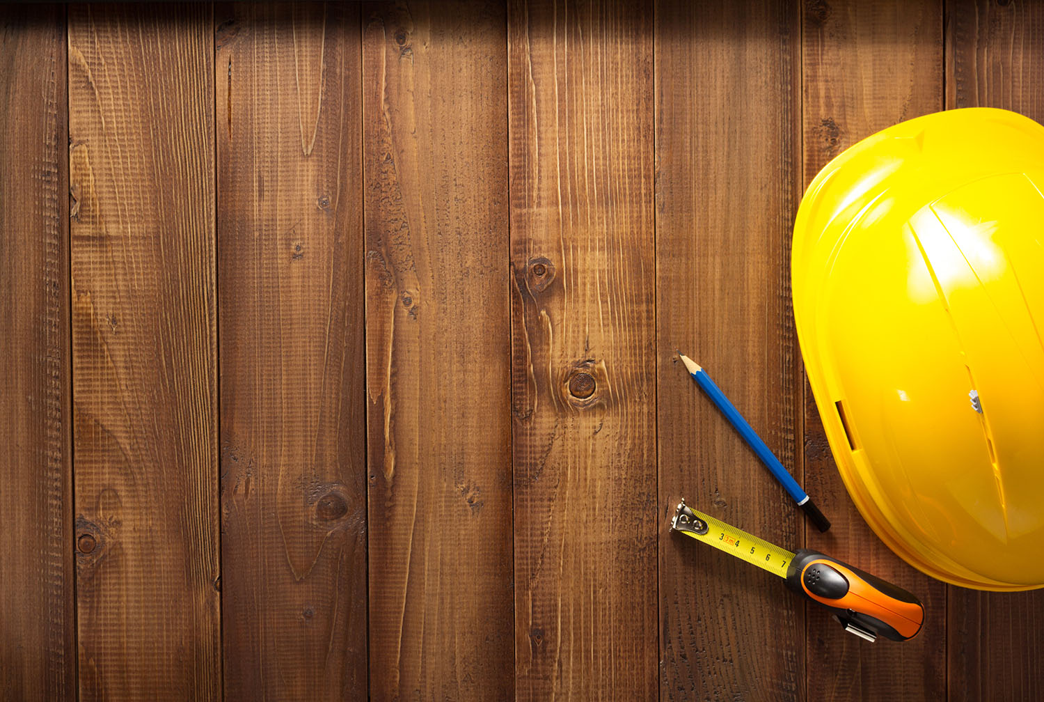 construction-tools-on-wood